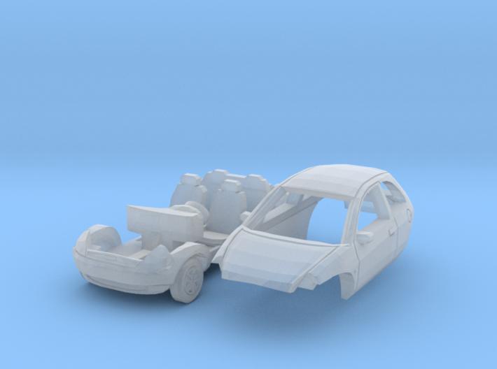 Ford Ka (TT 1:120) 3d printed