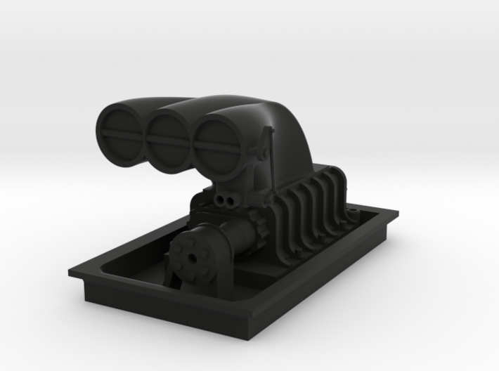 Blower with platform 3d printed
