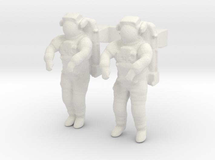 NASA Astronauts EMU 1:144 3d printed