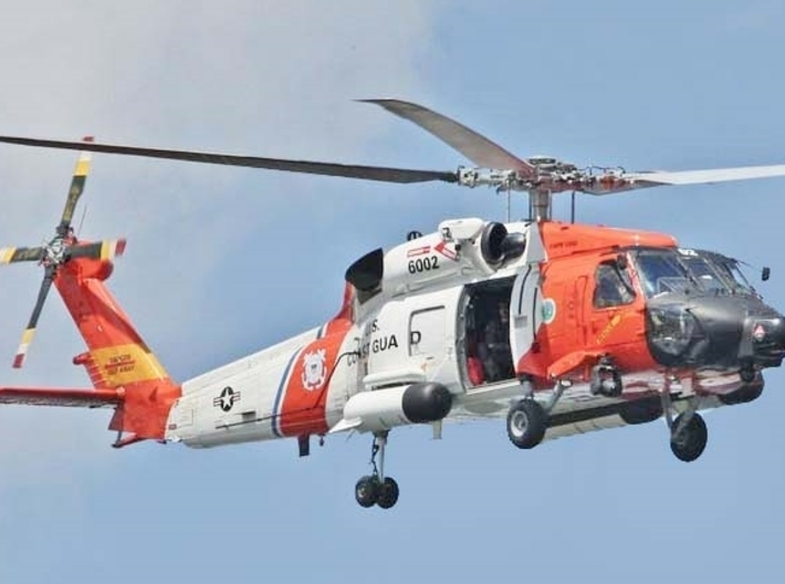 Nameplate HH-60J Jayhawk 3d printed Photo: US Coast Guard.
