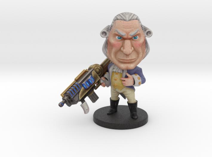 George Washington - Ninja Time Pirates 3d printed