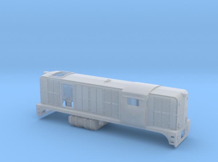 Z 1:220 SNCF BB 62400 Beta version 2 3d printed