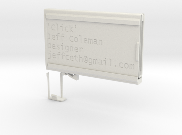 'Click' deluxe manual eject version 3d printed