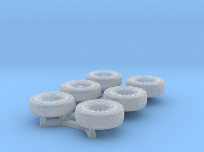 Dune Buggy Tires mbx scale 3d printed