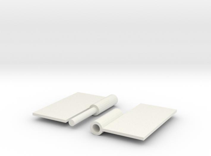 Hinge Test (Separated) 3d printed
