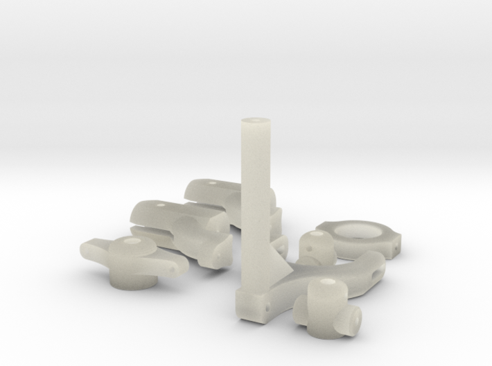 rotor tail 3d printed