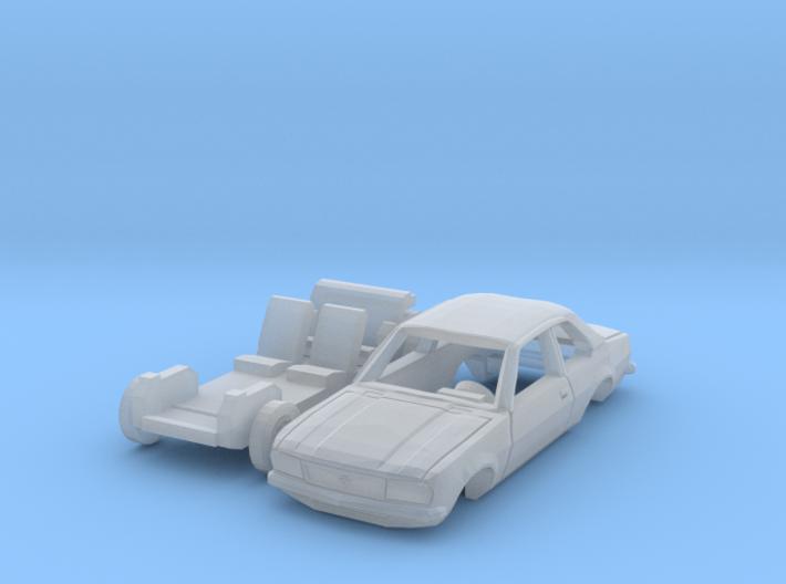 Opel Ascona (1/144) 3d printed