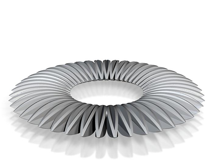 Calatrava Jewellery forms 141 60mm dia pendant 3d printed