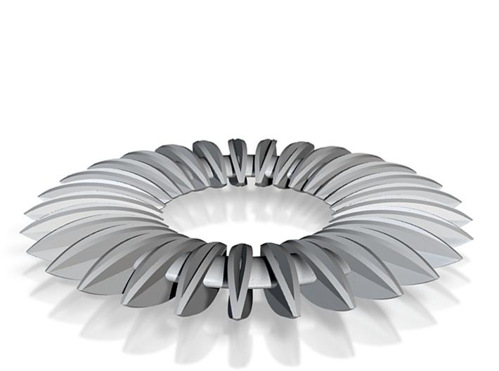 Calatrava Jewellery forms 140 80mm dia pendant 3d printed