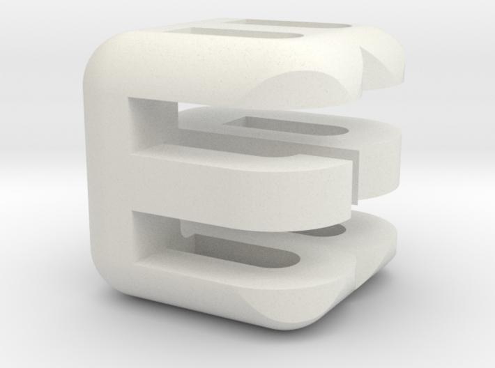 G E B upper (2x2x2) 3d printed