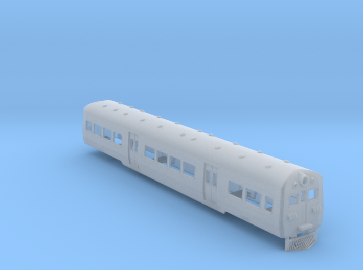 NZ120 D (60FT Suburban Passenger Set) 3d printed