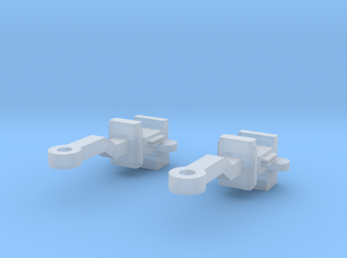 Brill Bullet Coupler O Scale 3d printed