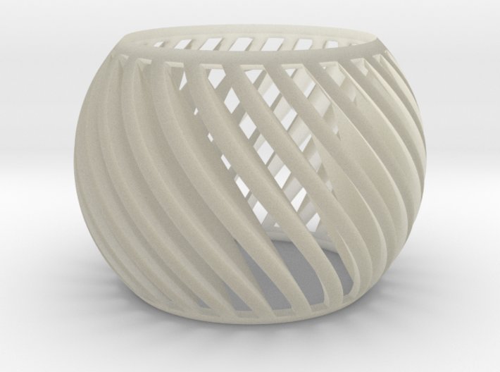 Twist Cage 3d printed