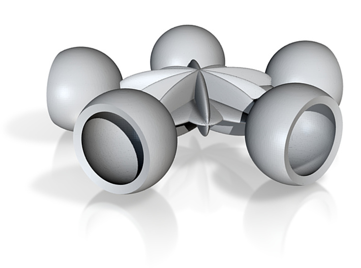 5 socket balls 10 mm 3d printed