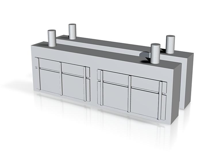 Pair Battery Boxes 3104 Heating Van 3d printed