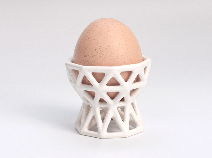 Radio Egg Cup 3d printed