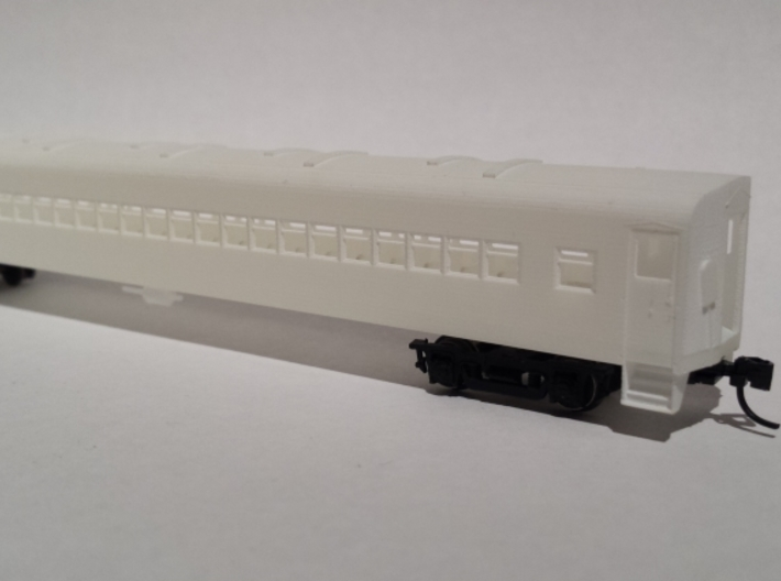 CPR/AMT 800 Series Commuter Coach N Scale 3d printed Assembled car