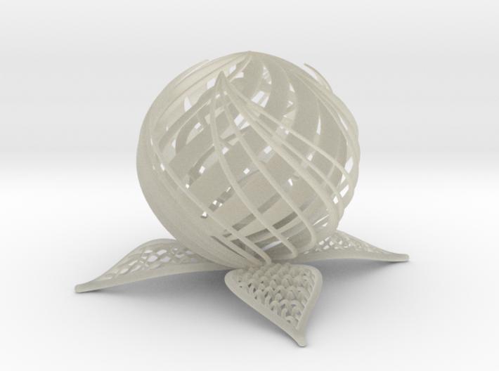 Turbine Flower 3d printed