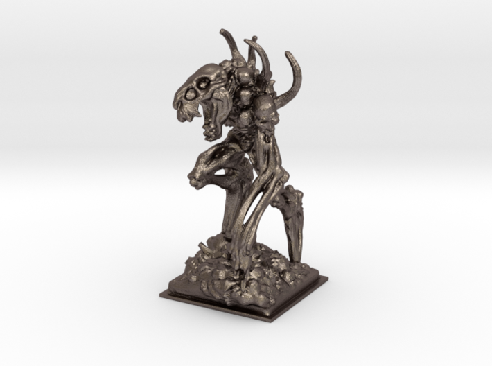 Bone golem miniature 39mm 3d printed