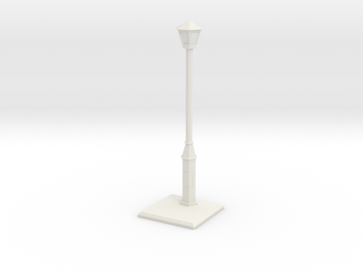 Old lightpost 3d printed