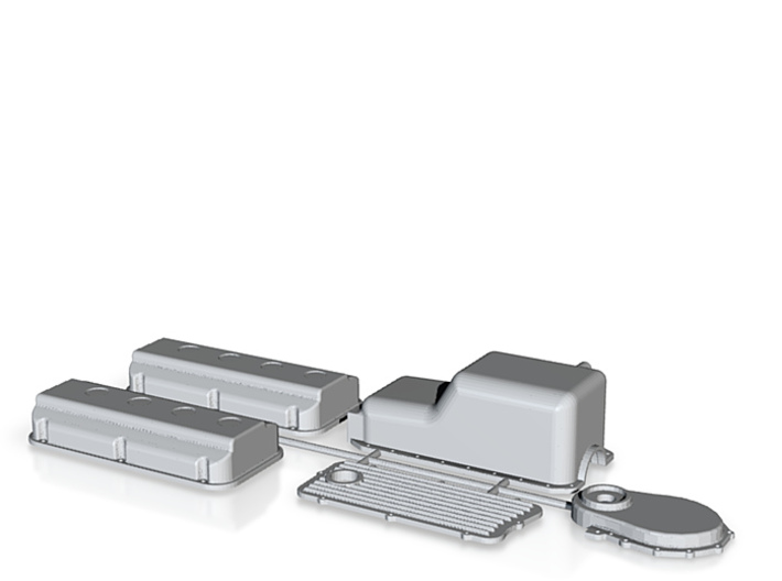 392 Hemi Covers Parts Kit 3d printed