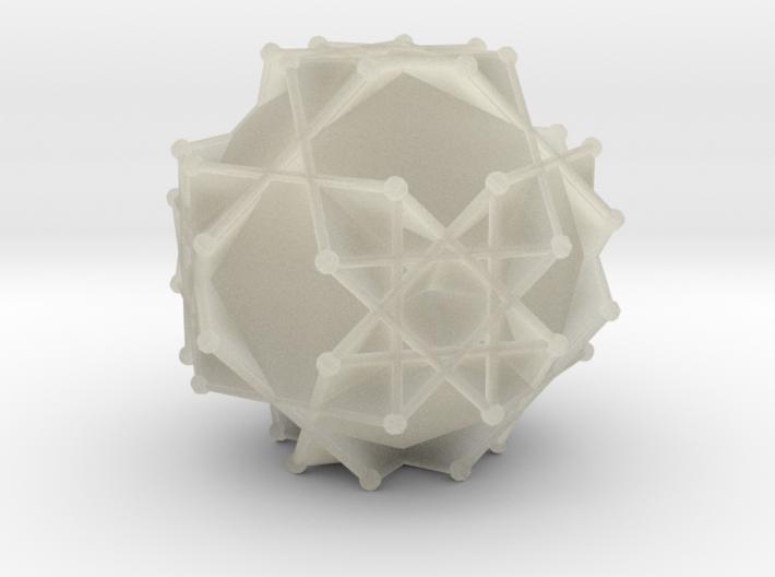 GreatTruncatedCuboctahedron2 3d printed