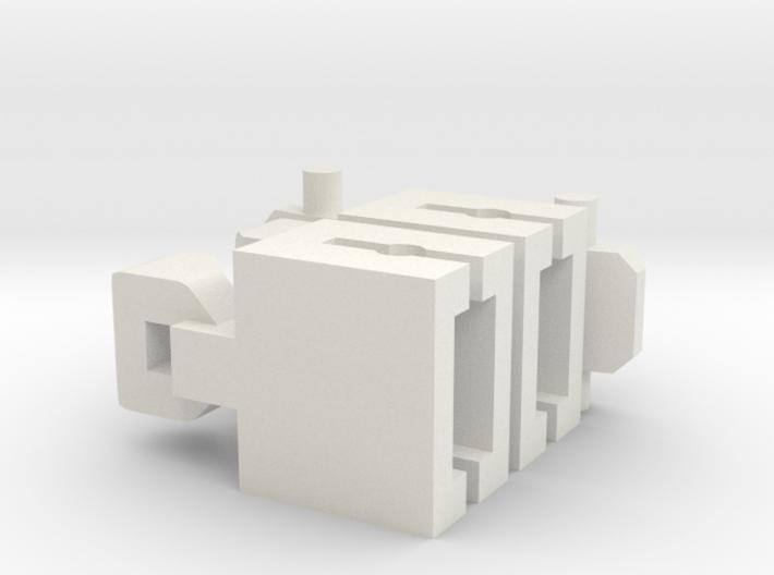 Vaste Koppeling Spoor N 3d printed