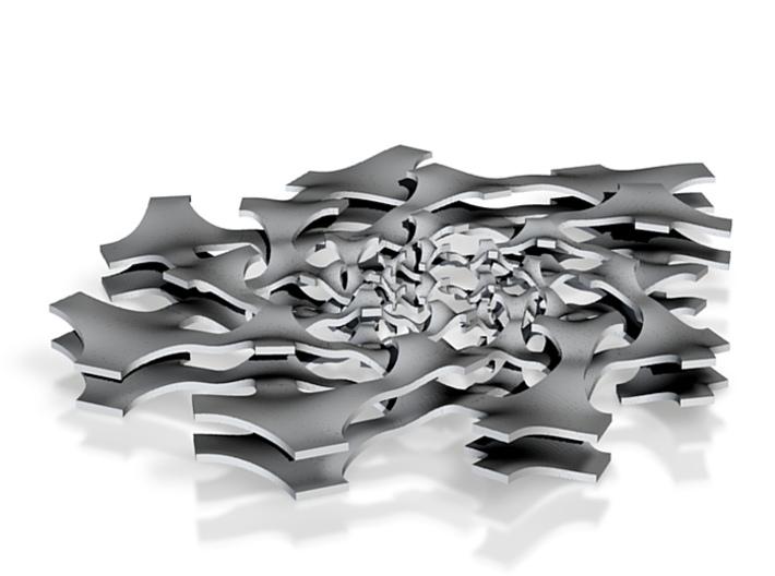 Spiral Tiling 7-9 print2 3d printed