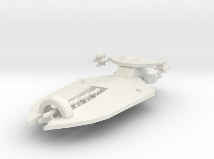 3 Missile Cruiser 3d printed