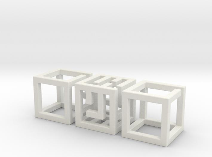 Big MazeNCubes 3d printed