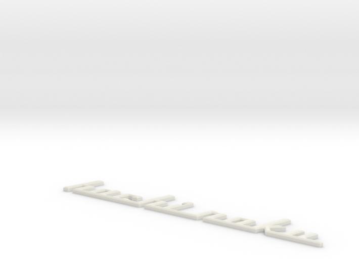 Hachi1-Medium Beveled 3d printed