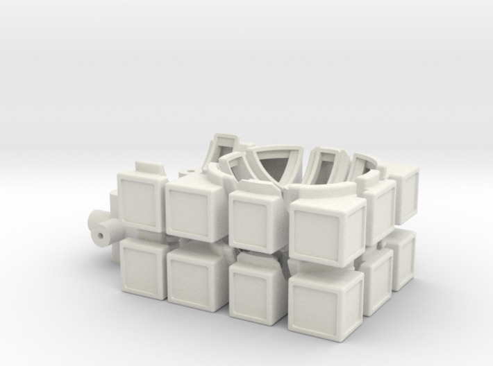 Half Turn Cube 3d printed