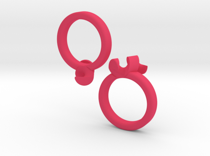 united-puzzle-ring 3d printed