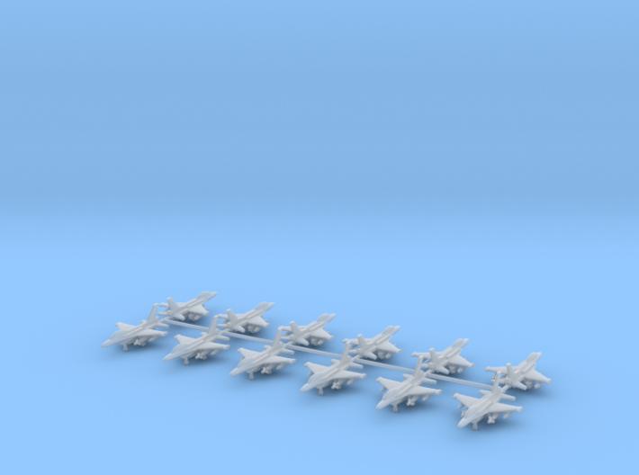 1/700 F-16D Block 52+ (Twin seat Version) (x12) 3d printed