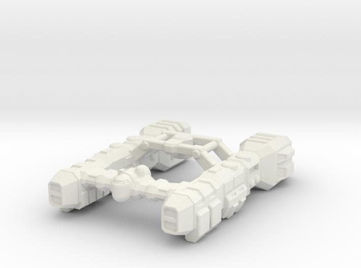 Salvage Cruiser 3d printed