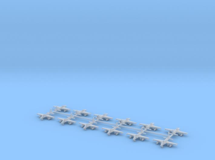 1/700 F-80 / P-80 Shooting Star (x12) 3d printed