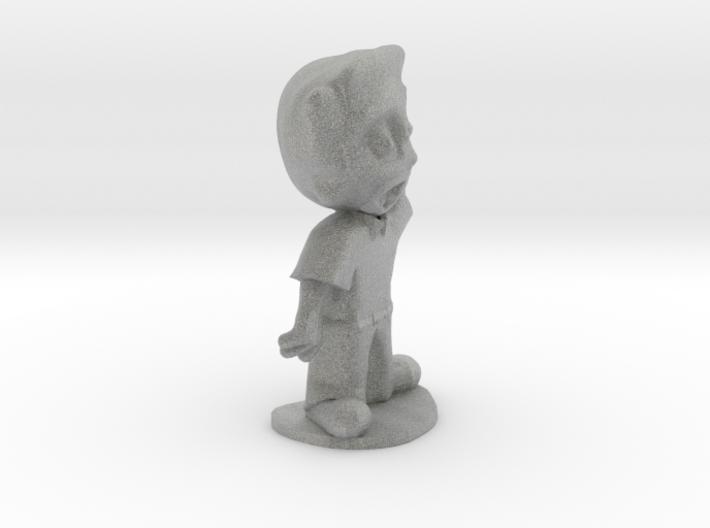 Designer Dan of Steel 3d printed