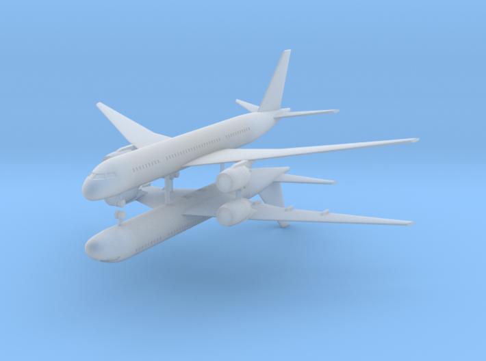 1/700 Boeing 787-800 Dreamliner (x2) 3d printed