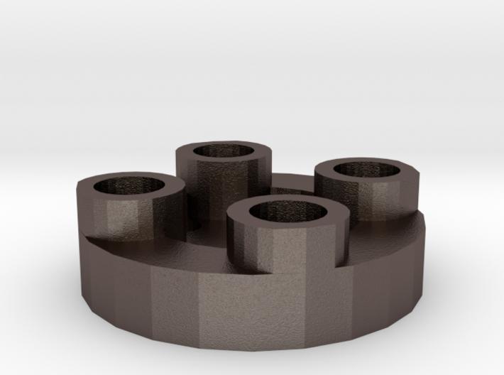 Sewable Disc Button - Base Design 3d printed