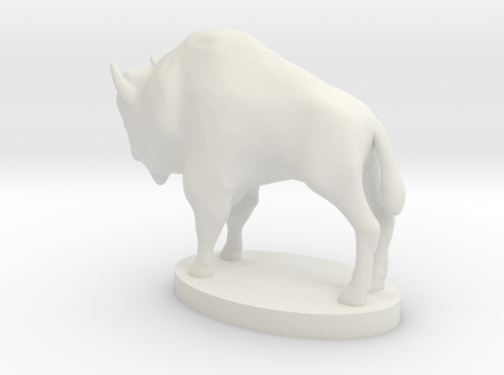 "Buffalo Nickel statue - 1"" = 16' 3d printed"