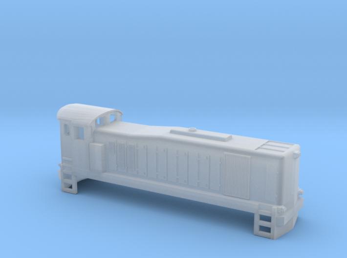CIE Class 121 N Scale 3d printed