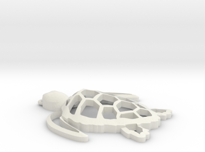 Sea turtle ornament Final 3d printed