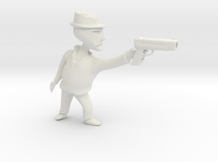 Gangster b 3d printed