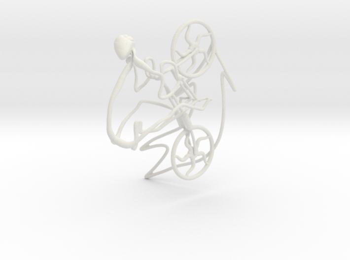 Cycling Race 3d printed