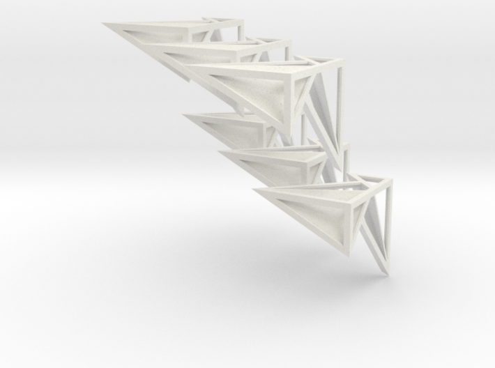 Kubusmix transparant 3d printed