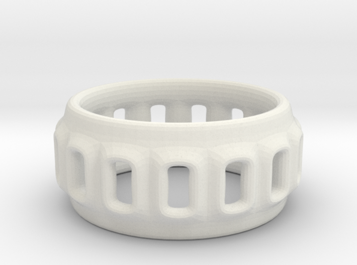 holey ring 5 3d printed