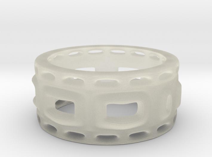 holey ring 1 3d printed