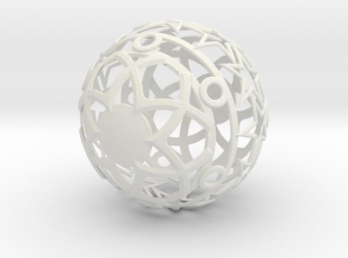 Christmasball 3d printed