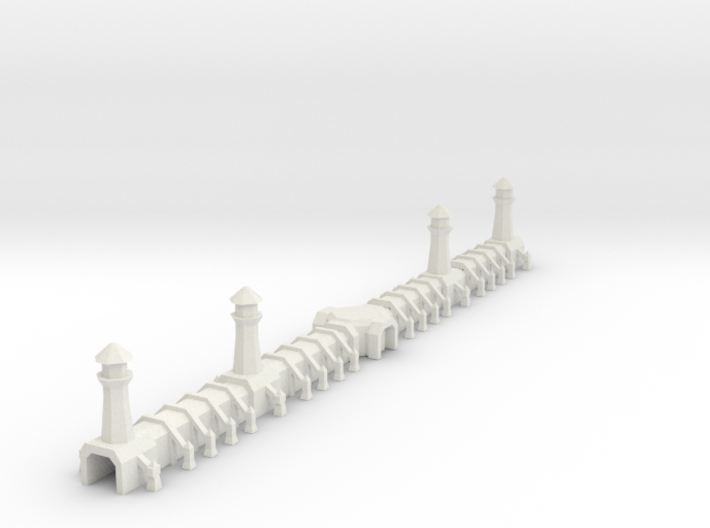 Gothic Wall 3d printed