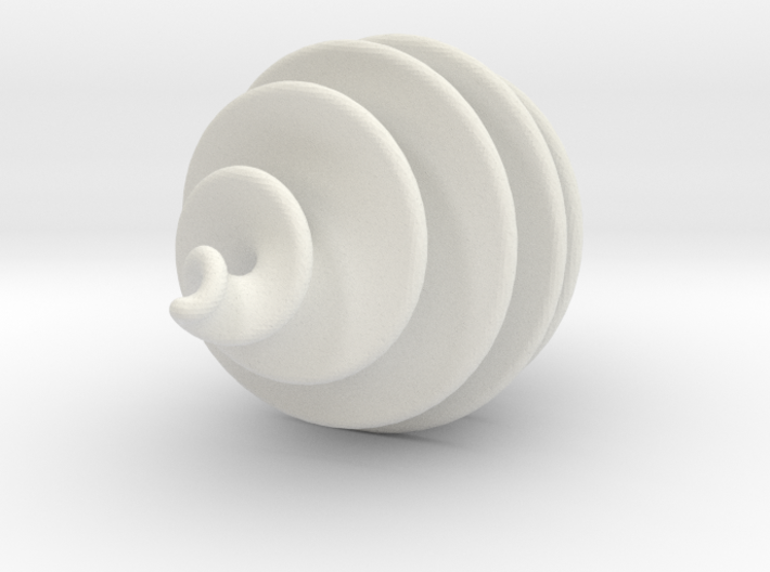 Spiral Ornament 3d printed